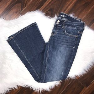 American Eagle Artist Bootcut Flare Low Rise Jean